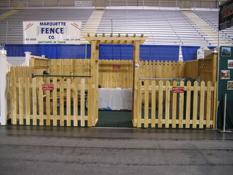Marquette Fence Co Inc Wood