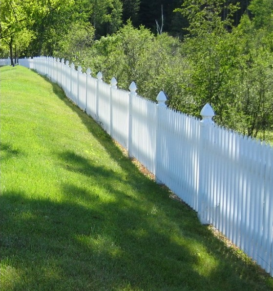 Vinyl Fence, Semi Private Vinyl Fencing - Summit Fence Supply